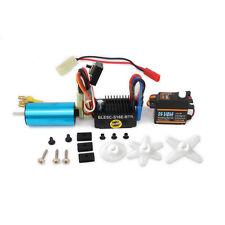 Servo Kit 4800KV Brushless Motor ESC Speed Controller For RC Car HSP Wltoys