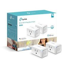Smart Wi-Fi Mini Plug Adapter Outlet 2-Pack Works With Alexa & Google (HS105KIT)