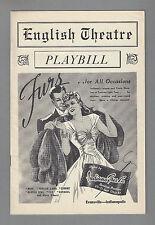 """Cole Porter """"DU BARRY WAS A LADY"""" Bert Lahr / Frances Williams 1940 Playbill"""