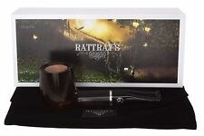 Rattray's Goblin 100 Tobacco Pipe - Gray Smooth