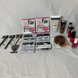 Wholesale Mixed MAKEUP BEAUTY Tools L'ORÉAL Ardell CoverGirl Revlon Lot of 16