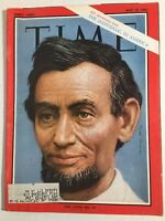 Time Magazine - May 10, 1963 The Individual In America Abraham Lincoln