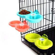 New ListingAutomatic Water Dispenser Pet Dog Puppy Cat-Food Dish-Dual Bowl Feeder Drinking