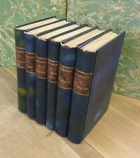 6 romans de John Galsworthy - de 1920 à 1925 - EN TRES BON ETAT