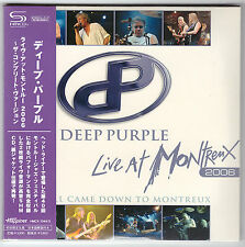 Deep Purple ,  Live At Montreux 2006 ( 2 SHM-CD Paper Sleeve Japan )