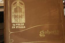 """14 VILLE IN ITALIA, GABETTI"""" 1960"""