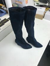 WOMENS LADIES HIGH BOOTS SIZE 4 POSHH