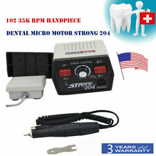 Dental Lab Micromotor Micro Motor Strong 204102l Polisher High Speed 35000rpm