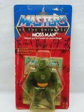 MOTU,Vintage,MOSS MAN,HARD HEAD,Masters of the Universe,MOC,Sealed,He-Man