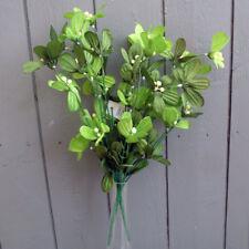 2 x Artificial Mistletoe Bush - Christmas Flowers