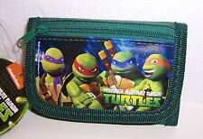 TEENAGE MUTANT NINJA TURTLES TMNT TRI-FOLD WALLET Card Case ID Holder Purse NEW!