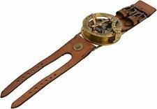Nautical Vintage steampunk watch style Sundial compass / sundial wrist compass