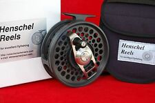 HENSCHEL DUAL MODE # 5, 13-20 saltwater fly reel - Anti Reverse + Direct Drive
