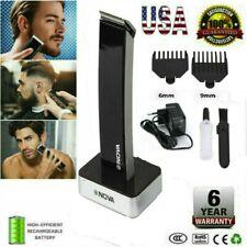 Rechargeable Men Electric Hair Clipper Shaver Beard Razor Trimmer Shaving Kit