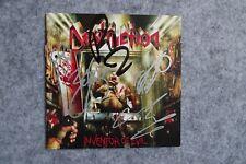 Destruction - Inventor of Evil  (Iron Maiden) signed / autograph / signiert