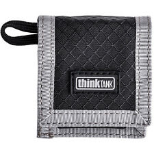 Think Tank Photo CF/SD & Battery Wallet  Two Slip-In Pockets Gray TT971