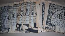LE JOURNAL DES BRODEUSES 35 pieces MONOGRAMME et broderies des années 1950