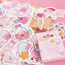 02 Pink Aesthetic Stickers Scrapbooking, Diaries, Journal, Notes, Arts, etc