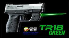 ArmaLaser TR18 Taurus PT709 / PT740 Slim Green Laser Sight w/ Grip Activation