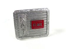 Deco KAT Atlantic Oil Belt Buckle By HOOK FAST PAT NO 1481911 52416
