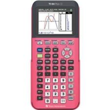 TEXAS INSTRUMENTS TI-84 PLUS CE SILVER EDITION COLOR GRAPHING CALCULATOR~PINK