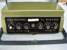Binson Guild Echorec Model T6F-A 1960's