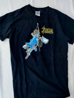 Legend of Zelda Breath of the Wild Promo T Shirt Nintendo Wii U Switch S SMALL