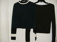 Two  Ladies/Girls Short Tops size 10
