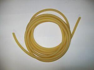 Hospital Laboratory QWORK 33FT 1//4 OD 3//16 ID Natural Latex Rubber Tubing Surgical Tube for Home