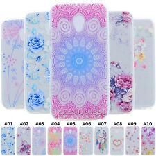 Retro Rubber Soft Clear Slim TPU Case Cover Skin Shell For Meizu M3x M5s M5 Note
