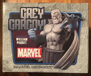 GREY GARGOYLE Mini-Bust Marvel Bowen Designs 108/1500 Avengers NEW Gray