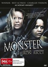 Monster (Charlize Theron) DVD BRAND NEW SEALED