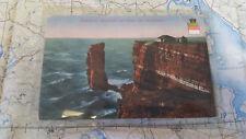 Helgoland Weltküste Nebelstation AK Postkarte 5972