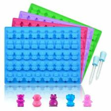 Silicone Candy Gummy Bear Molds - Chocolate Molds Including Bears, Frogs, Lions,