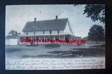 BEN MAC DHUI Summer Home of JOHN A. DOWIE Montague, Michigan postcard. ZION 1907