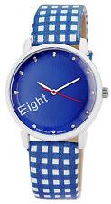 Donna Kelly Blue Clock Trendy Women Watch analoge Pu Leder Damenuhr Quartz Neu