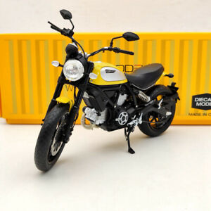 TSM Ducati Scrambler Icon 803CC 2015 Rosso TSMMC003 Motorcycle Diecast 1/12