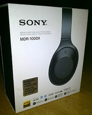 Sony MDR-1000X Bluetooth Noise Cancelling Ambient Sound Touch Sensor High Res