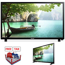 """HD LED TV Philips 24"""" Class Renewed 720p HDMI USB Small 16:9 Home With Stand"""