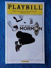 The Book Of Mormon - Hobby Center Theatre Playbill - January 2015 - Ryan Bondy