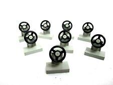 Lego Block Bricks Building Blocks Gray Truck Tractor Steering Wheel