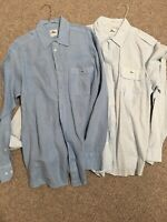 LACOSTE Men's Shirt Bundle Size 42 New w/o Tags
