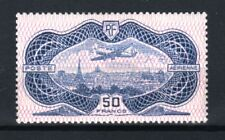 "FRANCE AERIEN 15 "" AVION CAUDRON SIMOUN 50F BURELAGE ROSE 1936 "" NEUF x TTB R697"