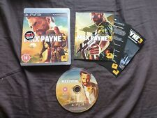 MAX PAYNE 3 Sony Playstation 3 Game PS3