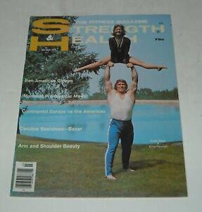 1976 STRENGTH & HEALTH FITNESS MAGAZINE PAN AMERICAN GAMES MONTREAL pre OLYMPICS