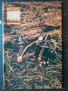 Armee Rundschau 2/1972, DDR, ungelesenes Belegexemplar