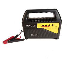 4AMP 12V ONLY TRUCK HEAVY DUTY VEHICLE BATTERY CHARGER PORTABLE ELECTRIC VOLT