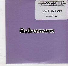(EJ872) Ooberman, Million Suns - 1999 DJ CD
