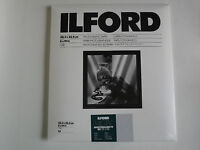 ILFORD MGIV RC DELUXE 8x10 GLOSSY 25 DARKROOM PAPER