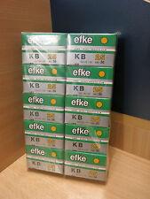 10 rolls of Efke KB25 very fine grain b&w film 35mm/36 exp.-04/2014-free ship!
